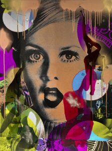 Joy' Artiste | Twiggy | Twiggy model pop | Galerie Mickaël Marciano Place des Vosges Paris.