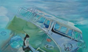 alt = Artiste Galerie Marciano Marcello Petischi voiture car classic car collection wolkswagen