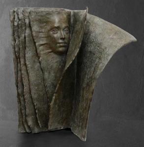 Face à Face |Paola Grizi Artiste | Casart Sculpture surrealism | Galerie Mickaël Marciano Place des Vosges Paris