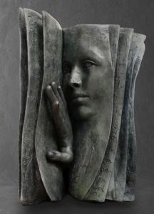Qui est le lecteurs ? | Paola Grizi Artist | Casart bronze surréaliste |G alerie Mickaël Marciano Place des Vosges Paris