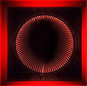Falcone Artiste | Infinity Circles | Mirror geometric optic | Galerie Mickaël Marciano Place des Vosges Paris