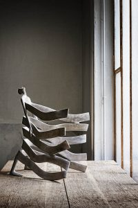 Bord de mer | Isabel Miramontes Artist | sculpture bronze | Galerie Mickaël Marciano Place des Vosges Paris.