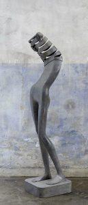 Intimidad | Isabel Miramontes Artist | sculpture bronze | Galerie Mickaël Marciano Place des Vosges Paris.
