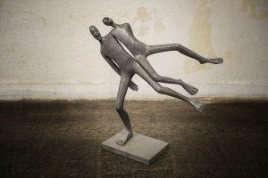Modus Vivendi | Isabel Miramontes Artist | sculpture bronze | Galerie Mickaël Marciano Place des Vosges Paris.