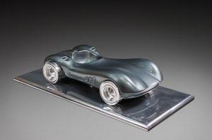 Antoine Dufilho Artist | Aston Martin | polie sculpture voiture classic car | Galerie Mickaël Marciano Place des Vosges