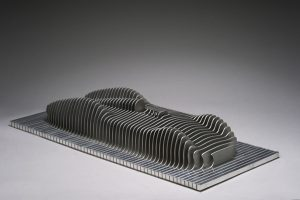 Antoine Dufilho Artist | Auto union avus mini | sculpture classic car acier aluminium | Galerie Mickaël Marciano Place des Vosge