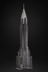 Antoine Dufilho Artist | Chrysler Building | sculptures architecture | Galerie Mickaël Marciano Place des Vosges
