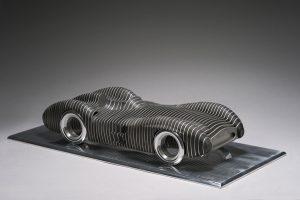 Antoine Dufilho Artist | Mercedes Swim Liner W196 | sculpture voiture classic car | Galerie Mickaël Marciano Place des Vosges