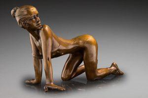 Jacques Le Nantec Marie-Bénédicte | danseuse Ballerina sculptor | Artist Mickaël Marciano Art Gallery Place des Vosges