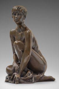 Jacques Le Nantec Gladys | woman erotism sculptures | Artiste Galerie Mickaël Marciano Art Place des Vosges