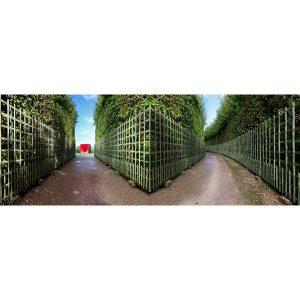Vinzarth Artist | Jardin | anamorphose architecture Anish Kapoor | Galerie Mickaël Marciano Place des Vosges Paris.