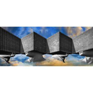 Vinzarth Artist | Sosno | anamorphose architecture | Galerie Mickaël Marciano Place des Vosges Paris.