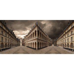 Vinzarth Artist | Muséarmée | anamorphose architecture | Galerie Mickaël Marciano Place des Vosges Paris.