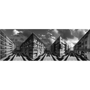 Vinzarth Artist | Muséocé | anamorphose architecture Hugues | Galerie Mickaël Marciano Place des Vosges Paris.
