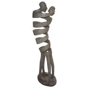 Corps Accord | Isabel Miramontes Artist | sculpture bronze | Galerie Mickaël Marciano Place des Vosges Paris.