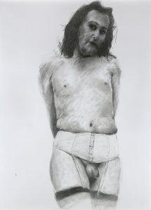 Artist Philippe Pasqua Caphi | Portrait mixed Media | Mickaël Marciano Art Gallery Place des Vosges