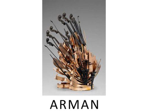 Arman Sculpture |Artiste | Galerie Mickaël Marciano | Paris.