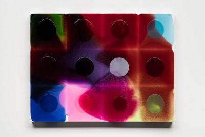 Milan Houser Artiste | Peinture couleur abstrait | Galerie Mickaël Marciano Place des Vosges Paris.
