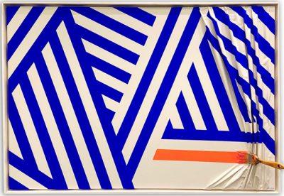 Galerie Marciano Jean-Paul Donadini Artiste Galerie Marciano | Paris place des Vosges | pinceau 3D brosse arrêtée