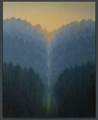 Andrzej Malinowski | élévation | Landscape Paysage | Nature | Art gallery Painting Place des Vosges | Marciano Contemporary