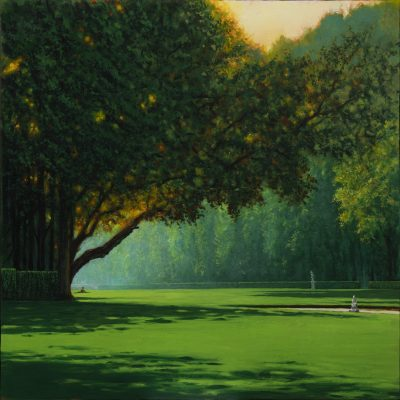 Andrzej Malinowski | Lectrice | Landscape Paysage | Nature | Art gallery Painting Place des Vosges | Marciano Contemporary