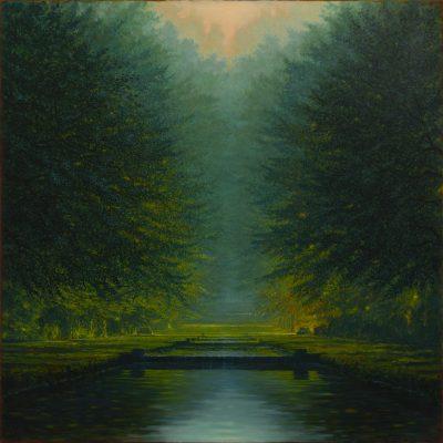 Andrzej Malinowski | Percée | Landscape Paysage | Nature | Art gallery Painting Place des Vosges | Marciano Contemporary