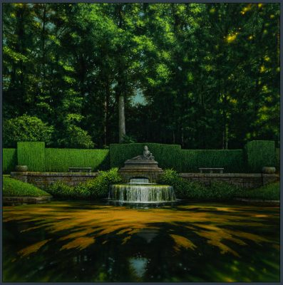 Andrzej Malinowski | Source | Landscape Paysage | Nature | Art gallery Painting Place des Vosges | Marciano Contemporary