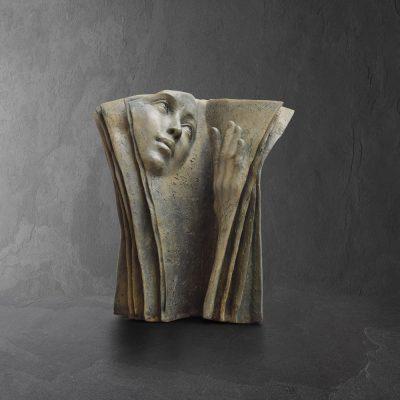 Lecture Multiple |Paola Grizi Artiste | Casart Sculpture surrealism | Galerie Mickael Mariano Place des vosges