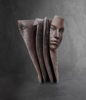 Marque-Page | Paola Grizi Artist | Casart bronze surréaliste | Galerie Mickael Marciano Paris Place des Vosges