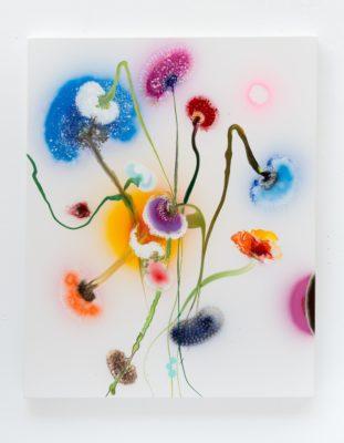 Thierry Feuz Artiste | Psychotropical Soraya | Fleurs flowers Color | Galerie Mickaël Marciano Place des Vosges Paris