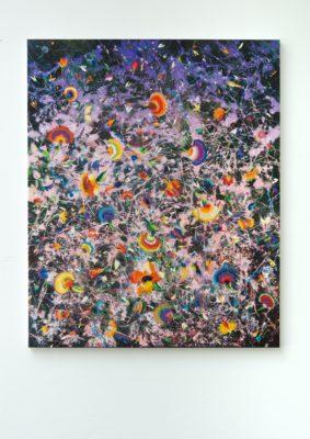Thierry Feuz Artist | Purplet Winds | Flowers fleurs | Galerie Mickaël Marciano Place des Vosges Paris
