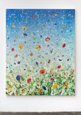 Thierry Feuz Artiste | Silver Winds Arcadia | Flowers fleurs | Galerie Mickaël Marciano Place des Vosges Paris