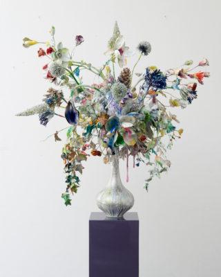 Thierry Feuz Artiste | Substrat Maurizius | Sculpture flowers fleurs | Galerie Mickaël Marciano Place des Vosges Paris