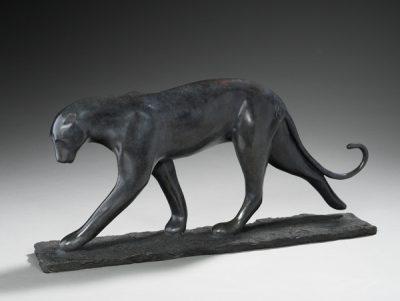 Brigitte Teman Artiste | Pongatti | panther cougar panthère | Galerie Mickaël Marciano Art Place des Vosges