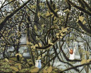 Artist DHOFFER Saisir le jour | Dominique Hoffer Surréalisme Surrealism Jungle | Galerie Mickaël Marciano Art Place des Vosges
