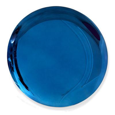 Jérémy Laval Artist | Deep Blue Sea | bleu azul Interior design Minimal Mirror Anish Kapoor | Galerie Mickaël Marciano Place des Vosges Paris