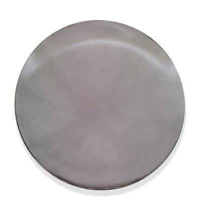 jJérémy Laval Artiste | Deep Grey Round | Gris Silver Miroir concave optic illusion | Galerie Mickaël Marciano Place des Vosges Paris