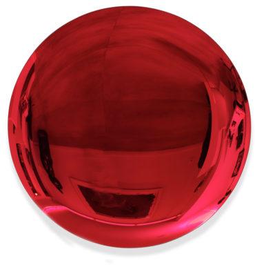 Jérémy Laval Artist | Deep Red rouge | Silver mirror Kapoor | Galerie Mickaël Marciano Place des Vosges Paris