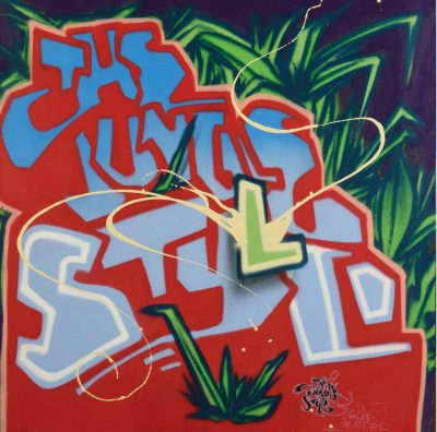 Junky Artist | The Jungle Style | Street Art Tag Lettering Graff | Galerie Marciano Art Gallery contemporain