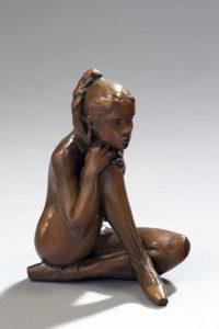 Jacques Le Nantec Brigitte | danseuse Ballerina sculptor | Artiste Galerie Mickaël Marciano Art contemporain Paris