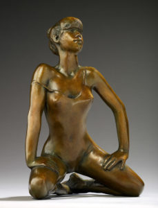 Jacques le Nantec La Rivale | danseuse Ballerina sculptor | Artiste Galerie Mickaël Marciano Art Place des Vosges