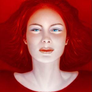 Andrzej Malinowski Artiste | Regard | hyperréalisme red rouge | Galerie Mickaël Marciano Place des Vosges Paris