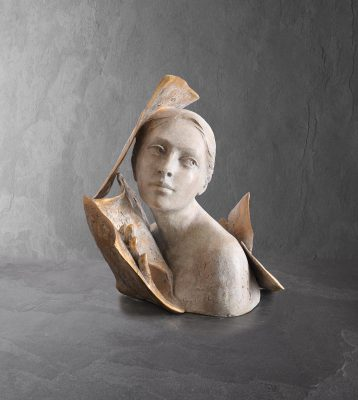 Ailleurs  Paola Grizi Artist   sculpture bronze livre   Galerie Mickael Marciano Paris Place des Vosges