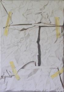abio Inverni Artist | Il ritratto di Angelo Doni | Hyperrealisme trompe l'oeil papier paper | Galerie Mickaël Marciano Place des Vosges Paris