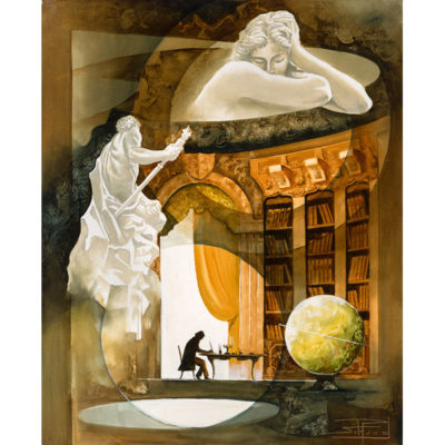 Roger Suraud Ecrivain | Sculpture marbre marble painting | Galerie Mickaël Marciano Art contemporain Paris