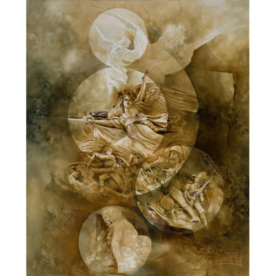 Roger Suraud Folie | Sculpture classique peinture | Galerie Mickaël Marciano Art contemporain Paris