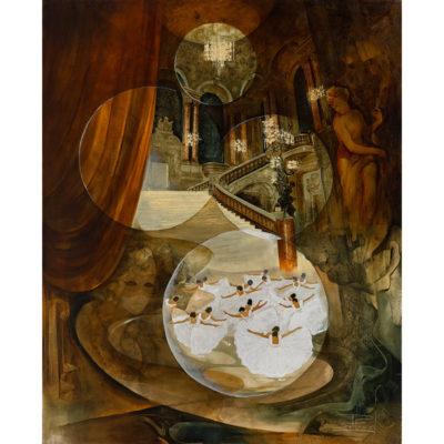 Roger Suraud Ballet | Ballerine Opera architecture interior | Mickaël Marciano Art Gallery Paris