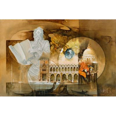 Roger Suraud Les Mysteres de Venise | Sculpture architecture | Mickaël Marciano Art Gallery Place des Vosges