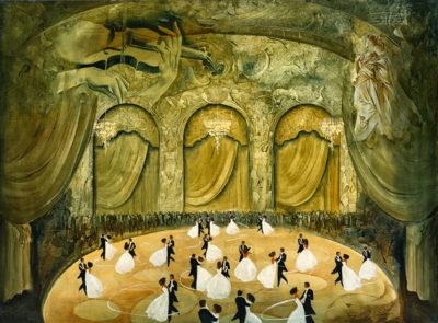 Roger Suraud Premier Bal | danse opera danse | Galerie Mickaël Marciano Art contemporain Paris