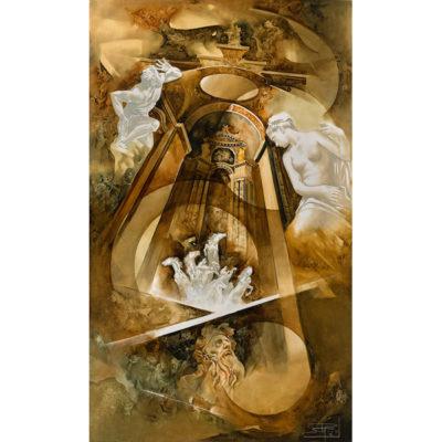 Roger Suraud Souvenirs | Peinture sculpture paragon classique | Galerie Mickaël Marciano Art Place des Vosges